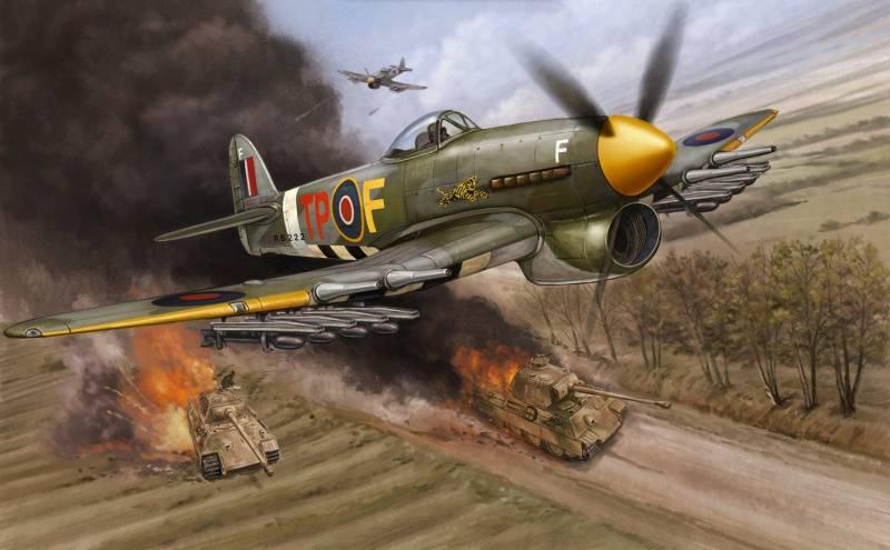 Авиация против танков (часть 11)
